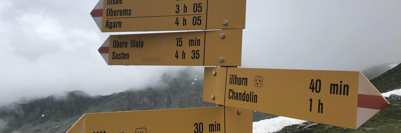 Calcul des temps de marche en montagne