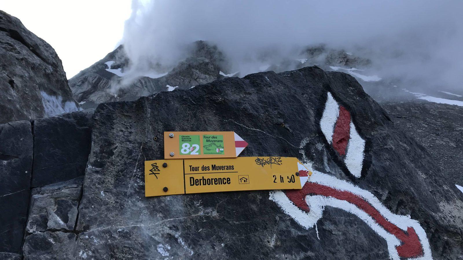 Le balisage des chemins et sentiers de randonnée en Suisse