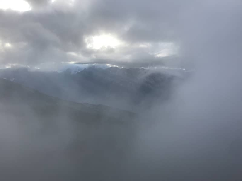 Oser t'aventurer dans le brouillard