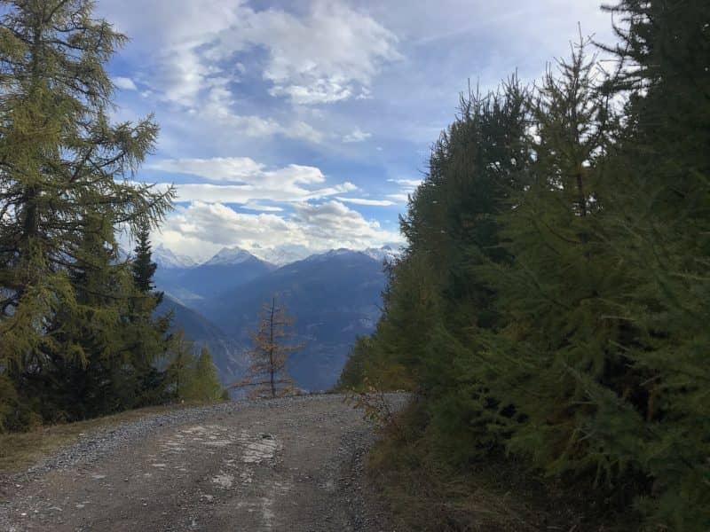 Panorama avec les 4000 du Val d'Anniviers