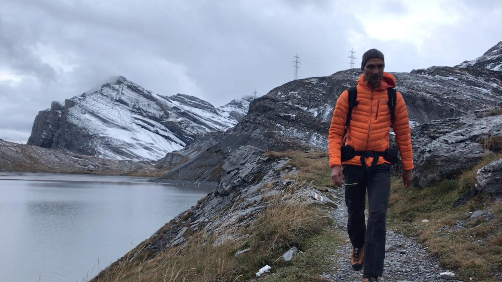 Doudoune duvet Simond Light Alpi : 1er retour en rando
