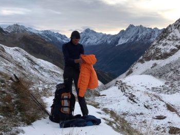 Doudoune duvet Simond Light Alpi : 1er retour en rando 1