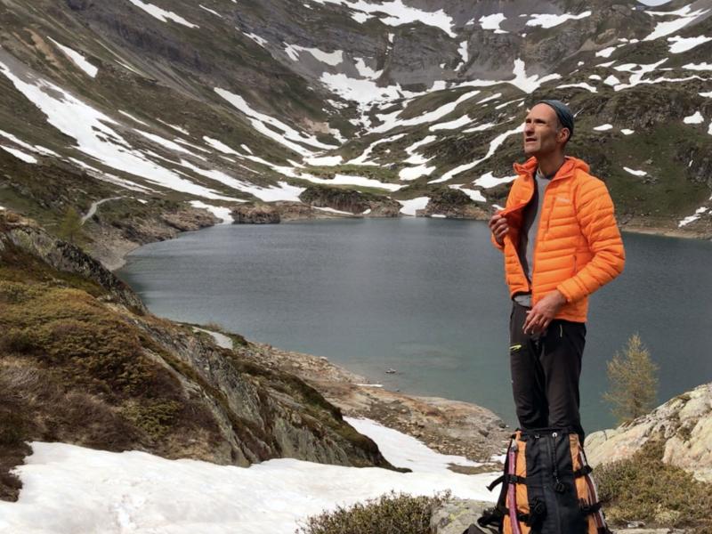 Au lac Supérieur de Fully, le regard tourné vers la suite du parcours : Demècre