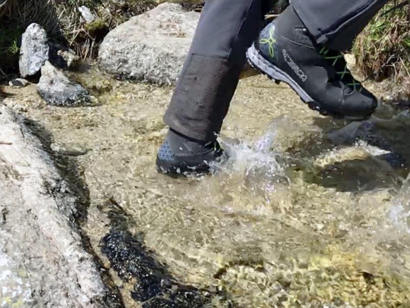 Montura Horizon : parfaite pour la traversée de petits ruisseaux