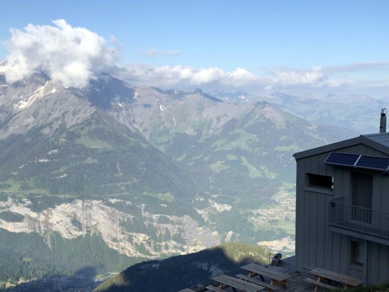Panorama depuis la cabane de de la Tourche
