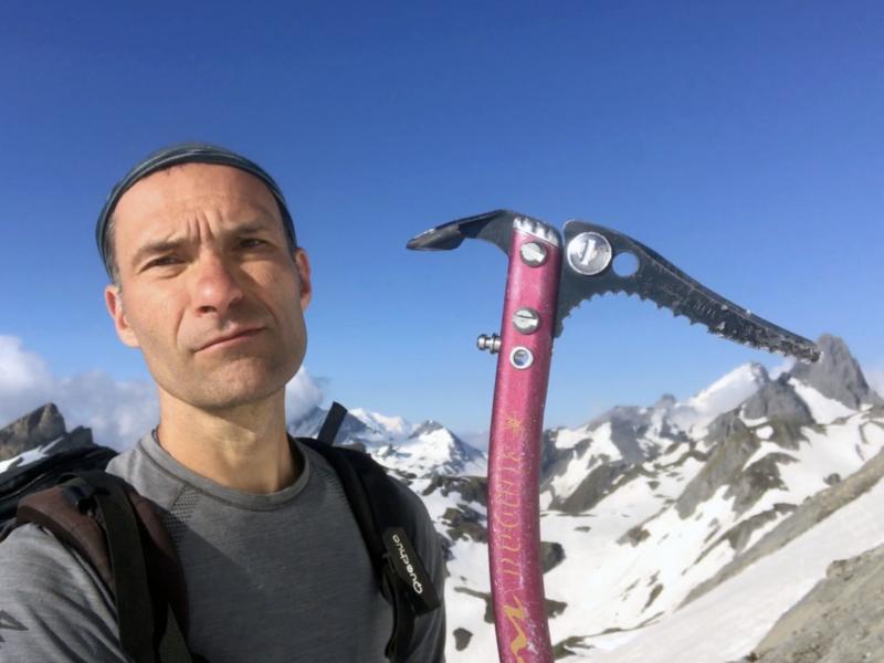 Le piolet : mon outil de prédilection en montagne !