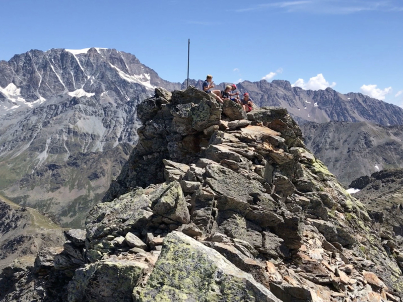 Le sommet de la Pointe de Drône