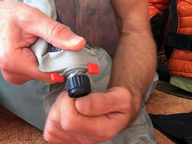 La valve WingLock à 3 positions et clapet anti-retour