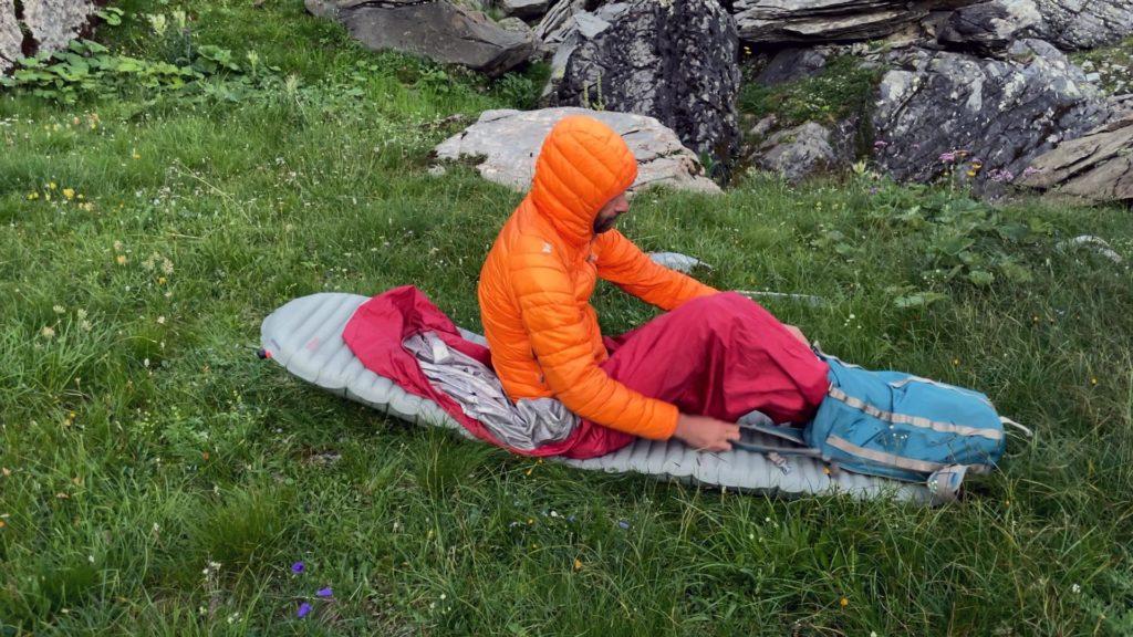 Le sac à dos devient utile également la nuit !