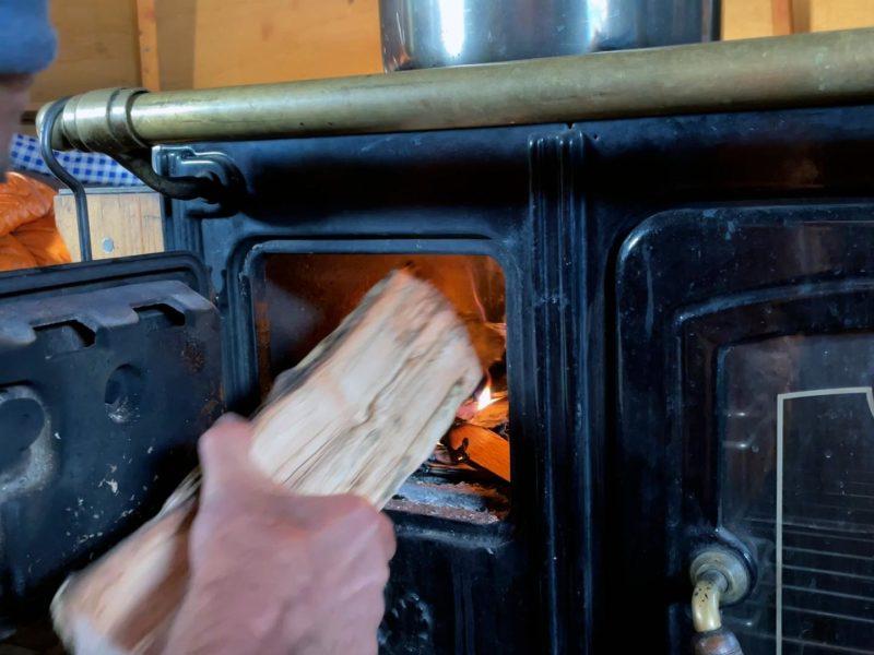 La magie d'un feu de bois