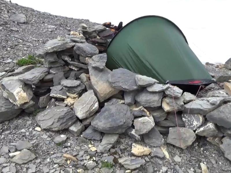 Une tente qui s'adapte à tous les terrains