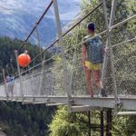 Pont suspendu de Randa, Europaweg et Domhütte